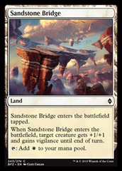 Sandstone Bridge - Foil