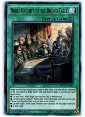 Noble Knights of the Round Table - MP15-EN052 - Ultra Rare - 1st Edition