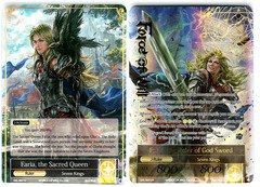 Faria, the Sacred Queen // Faria, the Ruler of God Sword - SKL-007 // SKL-007J - R - 1st Edition (Full Art)