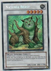 Naturia Beast - HA02-EN026 - Secret Rare - 1st Edition