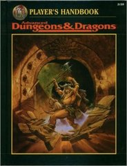 Revised Player's Handbook AD&D 2nd Edition 1995 TSR 2159