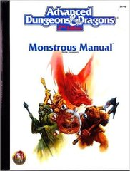 AD&D 2e - Monstrous Manual 2140 HC