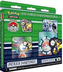 2015 World Championships Deck - Patrick Martinez Punches 'N' Bites
