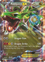 Rayquaza-EX - XY73 - Power Beyond Tin Promo