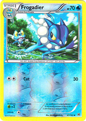 Frogadier - 47/162 - Uncommon - Reverse Holo
