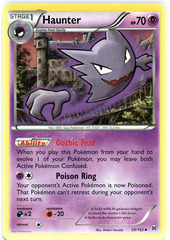 Haunter - 59/162 - Uncommon