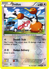 Doduo - 116/162 - Common - Reverse Holo