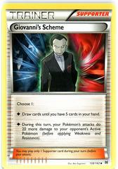 Giovanni's Scheme - 138/162 - Uncommon