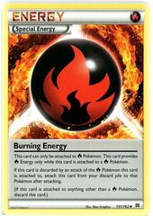 Burning Energy - 151/162 - Uncommon