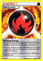 Burning Energy - 151/162 - Uncommon - Reverse Holo