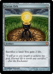 Zuran Orb - Foil on Channel Fireball