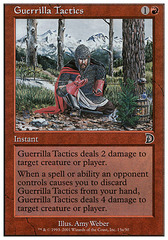 Guerrilla Tactics (13a - Kneeling Knight) on Channel Fireball