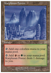 Karplusan Forest on Channel Fireball