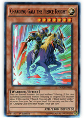 Charging Gaia the Fierce Knight - DOCS-EN019 - Ultra Rare - 1st Edition on Channel Fireball