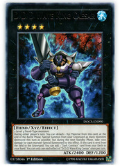 D/D/D Wave King Caesar - DOCS-EN090 - Rare - 1st Edition on Channel Fireball