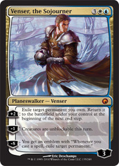 Venser, the Sojourner on Channel Fireball
