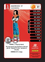Android 17, Judgmental - Foil