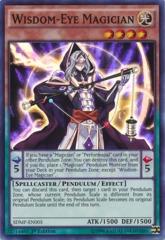 Wisdom-Eye Magician - SDMP-EN005 - Super Rare - 1st Edition