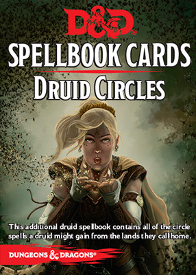 Dungeons and Dragons 5th Edition RPG: Spellbook Cards - Druid Circles