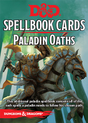Dungeons and Dragons 5th Edition RPG: Spellbook Cards - Paladin Oaths