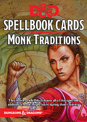 Spellbook Cards: Monk Traditions D&D 5E