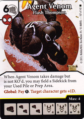 Agent Venom - Flash Thomson (Card Only)