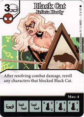 Black Cat - Felicia Hardy (Die & Card Combo)