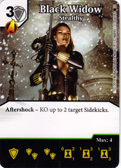 Black Widow - Stealthy (Card Only)