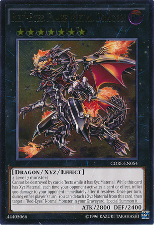 Red-Eyes Flare Metal Dragon - CORE-EN054 - Ultimate Rare ...