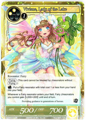 Viviane, Lady of the Lake - TTW-017 - SR - 1st Edition (Foil)