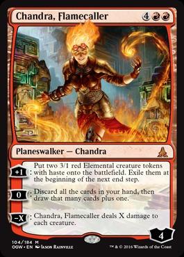Chandra, Flamecaller - Foil