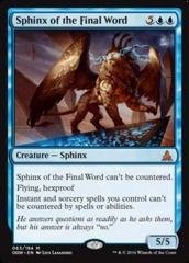 Sphinx of the Final Word