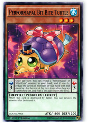 Performapal Bit Bite Turtle - BOSH-EN005 - Common - 1st Edition