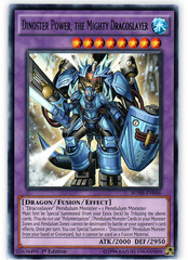 Dinoster Power, the Mighty Dracoslayer - BOSH-EN046 - Rare - 1st Edition