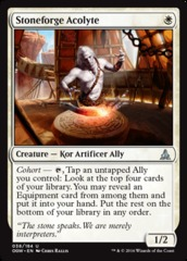 Stoneforge Acolyte - Foil