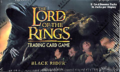 Lord of the Rings Card Game Black Rider Booster Box