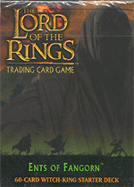 Ents of Fangorn Lord of the Rings Cards Witch King Starter Deck