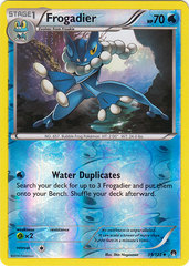 Frogadier - 39/122 - Uncommon - Reverse Holo