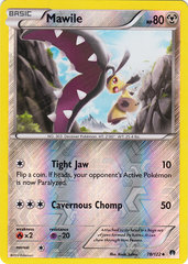 Mawile - 78/122 - Uncommon - Reverse Holo