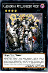 Cairngorgon, Antiluminescent Knight - WIRA-EN049 - Common - 1st Edition on Channel Fireball
