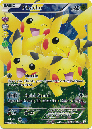 Pikachu Rc29 32 Full Art Ultra Rare Pokemon Singles
