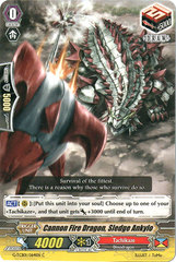 Cannon Fire Dragon, Sledge Ankylo - G-TCB01/064EN - C on Channel Fireball
