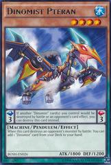 Dinomist Pteran - BOSH-EN026 - Rare - Unlimited Edition