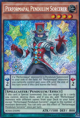 Performapal Pendulum Sorcerer - BOSH-EN090 - Secret Rare - Unlimited Edition