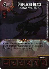 Displacer Beast - Paragon Monstrosity (Card Only)