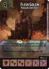 Flesh Golem - Paragon Construct (Card Only)