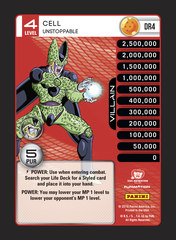 Cell, Unstoppable - Rainbow Prism Foil