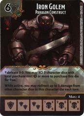 Iron Golem - Paragon Construct (Die & Card Combo)