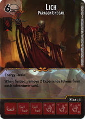 Lich - Paragon Undead (Card Only)