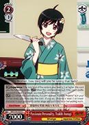 Passionate Personality, Tsukihi Araragi - NM/S24-E058 - U